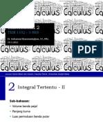 Matematika 2 - 3 Integral Tertentu II