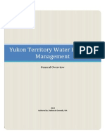 Yukon Territory Water Resource Management