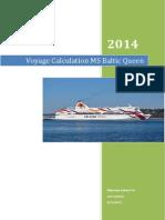 Manajemen Kapal_Voyage Calculation