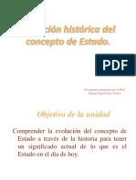 EVOLUCION HISTORICA DEL ESTADO ..ppt