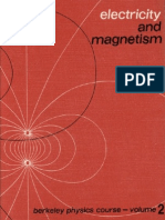 Electricity and Magnetism Berkeley Physics Course Purcell