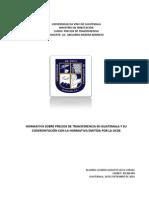 Lizardo Leiva - Comparacion Guatemala y OCDE Precios de Transferencia.docx