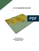 Notes on Singapore Geology PPT Presentation