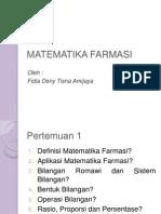 Matematika Farmasi