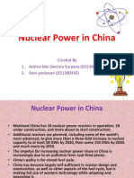 Nuclear Power in China