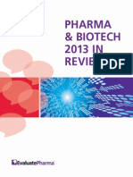 Pharma Year in Review 2013 Report