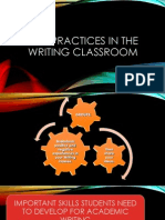 Best Practices in the Writing Classroom