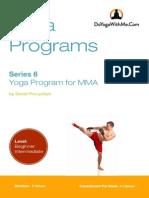 Yoga Program for MMA