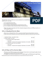 City of Glendale, CA _ Medium Business (LD-2) Electric Rates 2014