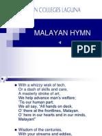 Malayan Hymn