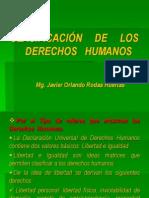 CLASIFICACION DE LOS DERECHOS HUMANOS.ppt