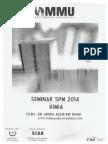Bahan Bengkel Seminar Kimia SPM 2014 Oleh Cikgu Adura