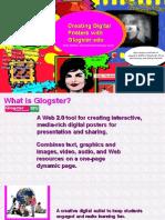 Glogster Account Creation Flipchart Presentation