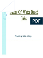 Future of Water Based Inks in India