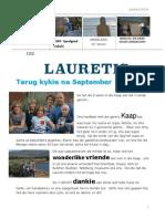 Lourens Laureti - News Afrikaans October