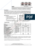 Synthetic Lithium Complex Grease