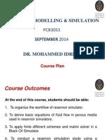 Course Plan- Sep14-Dr M Idrees