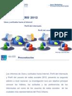 Plan de Negocios, Uso de Internet en el PERU.pdf