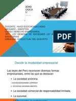 SESION N° 3 LEY GENERAL DE SOCIEDADES LEY N°268887 - CLASES SOCIETARIAS.ppt