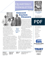 F&M Bank Winter 2009 Newsletter