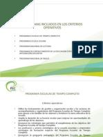 PROGRAMAS INCLUIDOS EN LOS CRITERIOS OPERATIVOS.pptx