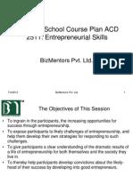 Entrepreunership Skills