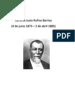 Justo Rufino Barrios Historia
