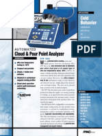 Cloud and Pour point apparatus suppliers