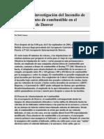 Informe de Investigación Del Incendio de Abastecimiento de Combustible