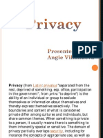 Privacy My Report