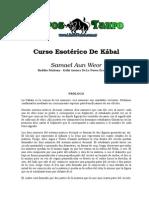 Anonimo - Curso Esoterico de Kabala.doc