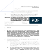 SDC-13-01 Revised Requirements for Food & Catering & Ship Cooks Under MLC,2006