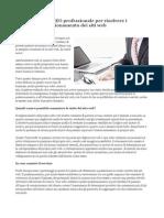 Una Consulenza SEO Professionale Per Risolvere i Problemi Di Posizionamento Dei Siti Web