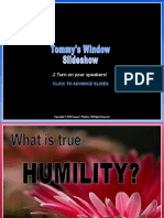 What is Humility