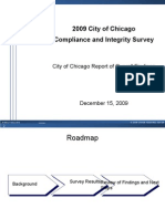 2009 City of Chicago Compliance and Integrity Survey