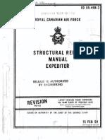 Expeditor 3N 3NM 3TM 3T Structural Repair Manual EO05-45B-3 1966