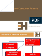 3. External Consumer Competitor Analysis