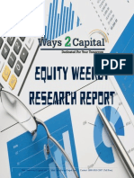 Equity Report 09 Oct 2014 by Ways2Capital
