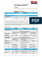 HDFC AMC Tax Reckoner 2014 15 Version 3 Final