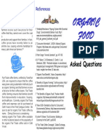 Organic Brochure