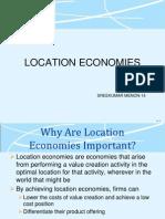 Location Economies