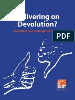 Delivering on Devolution AfriCOG Final Sept 2014