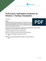 Performance Tuning Guidelines for Windows 7 Desktop Virtualization v1.9