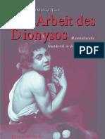 Die Arbeit des Dionysos