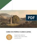 Curso de Etiópico Clásico - Programación Didáctica.pdf