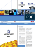 Qatar Pipeline & Fittings HDPE Catalogue