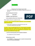 Queries for SAP LIC Audit