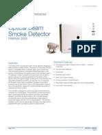 85001-0548 -- Optical Beam Smoke Detector