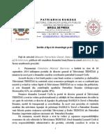 Drept la replică al Patriarhiei Române
