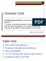 Shoulder Joint DD